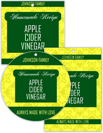 Original Country Canning Favor Tags