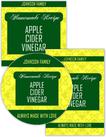 Original Country Canning Labels