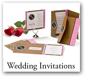 Customizable wedding invitations, wedding programs, wedding tabels numbers, wedding menus, wedding RSVP cards