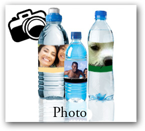 photo water bottle labels