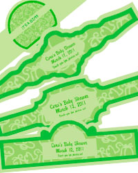 Precious Baby Cigar Band Labels