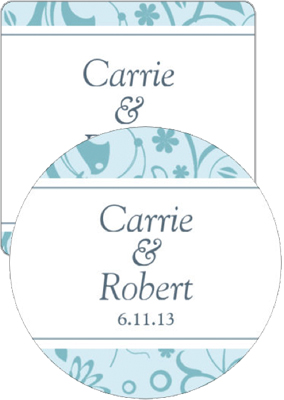 Provencale Wedding Coasters