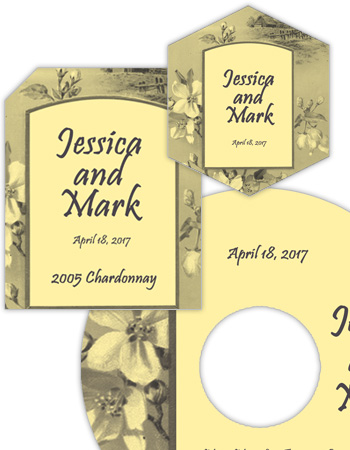 Realism Wedding Labels