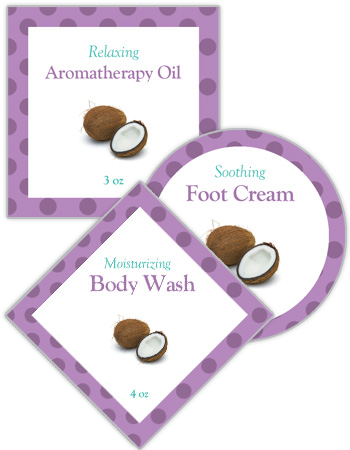 Refresh Bath and Body Labels