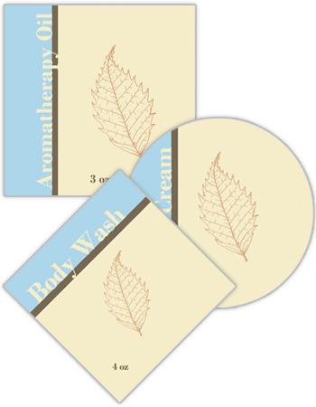 Restful Bath & Body Labels