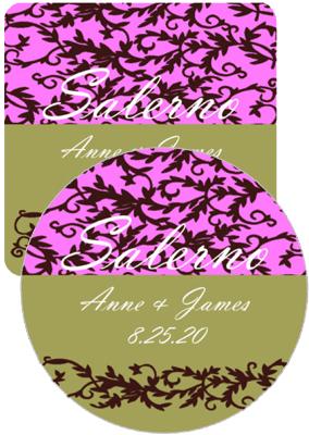 Rococo Wedding Coasters