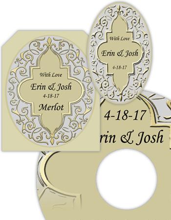 Romanticism Wedding Labels