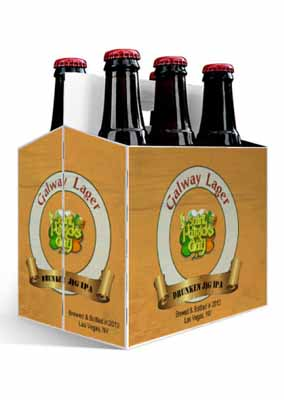 Galway Lager Saint Patricks Day Six Pack Carriers