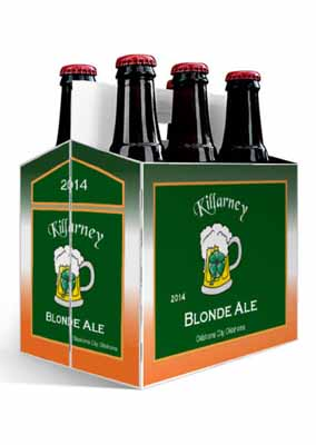 Killarney Ale Saint Patricks Day Six Pack Carriers