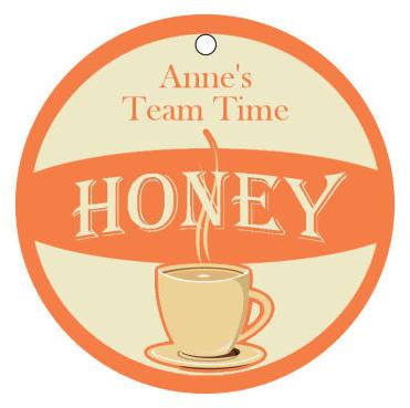 Tea time Food and Craft Hang Tags