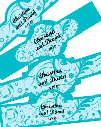 Serenity Cigar Band Labels