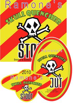 Skull Beer Labels