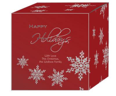 Snowflakes Christmas Gift Boxes