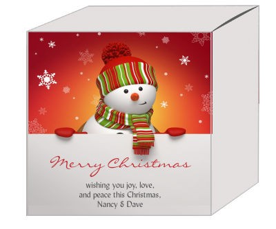 Snowman Top Christmas Gift Boxes