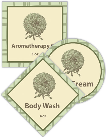 Soothing Bath and Body Labels
