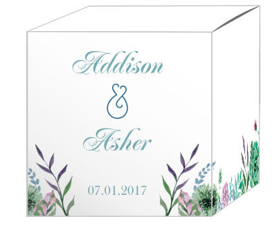 Spring Meadow Flowers Favor Boxes