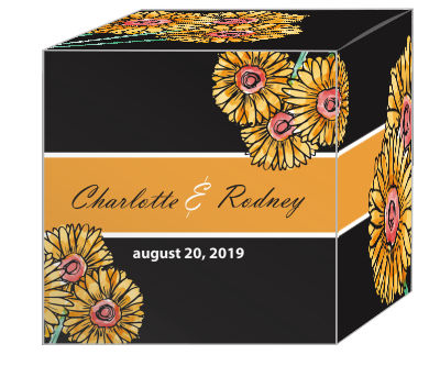 Summer Floral Trio Favor Boxes