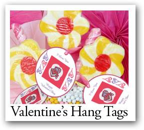Valentine Day Hang Tags