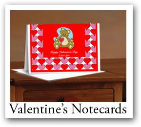 custom note cards, Valentine invitations cards