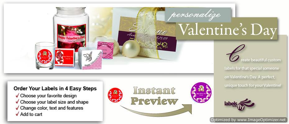 Custom Valentine labels, custom favor tag, wine bottle sticker, gift boxes, thank you cards, hangtags