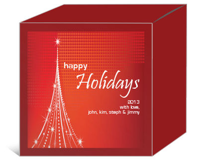 Vector Christmas Tree Christmas Gift Boxes