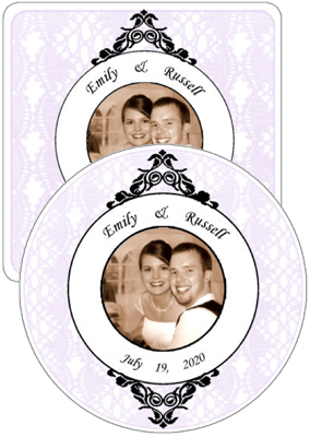 Venice Wedding Coasters
