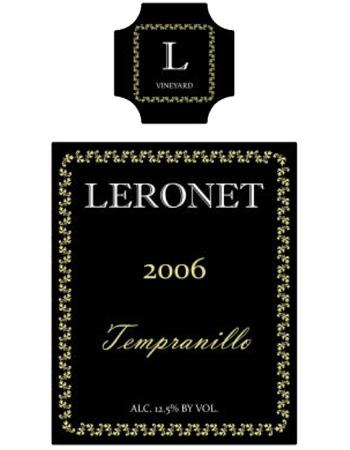 Vine Wine Label