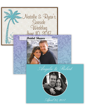 Wedding Horizontal Rectangle Labels
