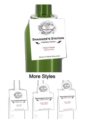 Washington Wine Bottle Tags