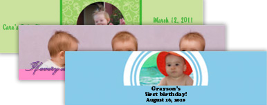 Baby Water Bottle Labels