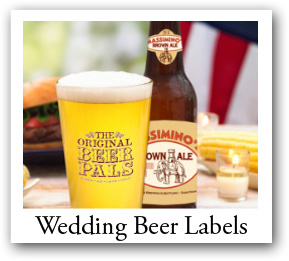 Customized Wedding Labels, personalized wedding Beer Stickers
