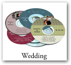 Wedding CD DVD Labels