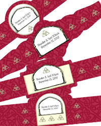Celtic Cigar Band Labels