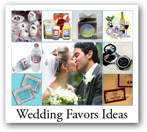Custom wedding favors ideas