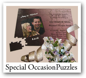 personalized wedding puzzle, Special Occasion Jigsaw Puzzles, puzzle for wedidng