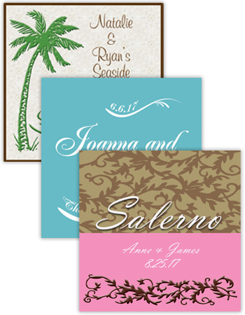 Wedding Square Labels