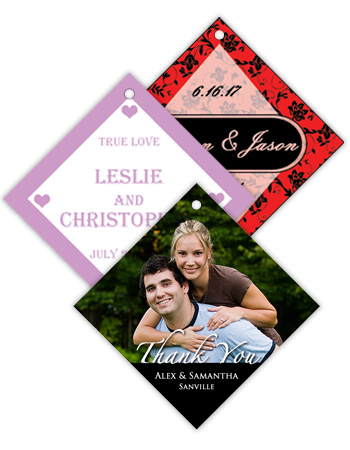 Diamond Wedding Hang Tag