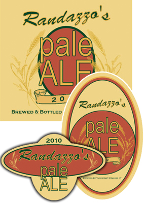 Wheat Beer Labels