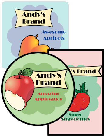 Your Brand Food and Craft Label