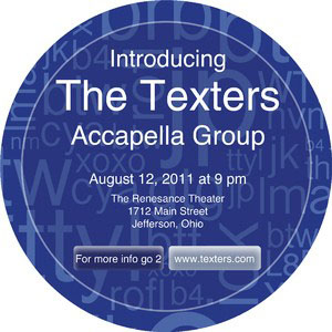Acronym Texting Coaster
