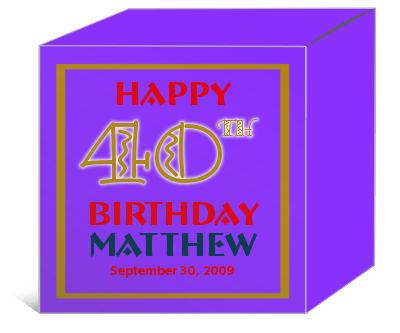 Age Birthday Boxes