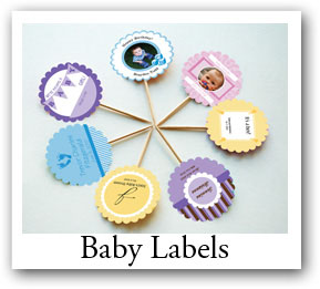 Design your own custom baby labels