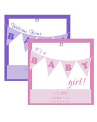 Banner Baby Hang Tag