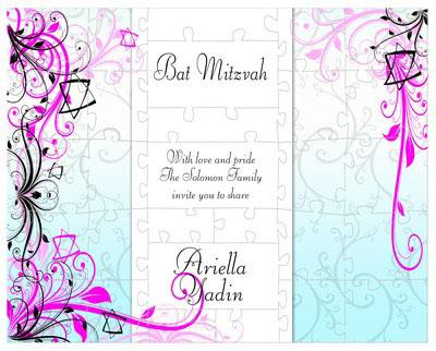 Bar and Bat Mitzvah Embellish Puzzles