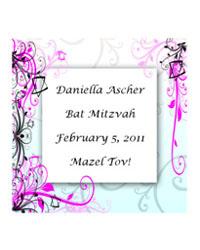 Bar-Bat Mitzvah Embellish Labels