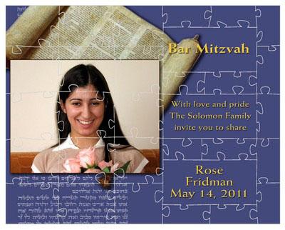 Bar and Bat Mitzvah Torah Puzzles
