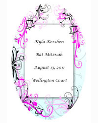 Bar Mitzvah Embellish Favor Tags