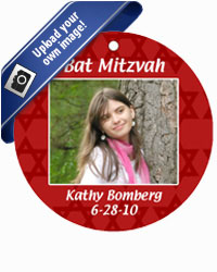 Bar Mitzvah Mazel Tov Hang Tags