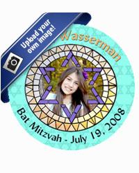 Bar Mitzvah Mosaic Coasters