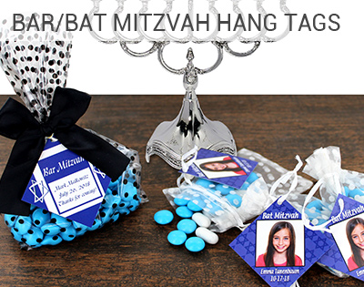Bar & Bat Mitzvah HangTags
